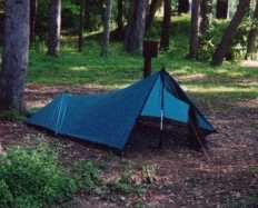 In all of Henryu0027s tarptent designs the front is intended to be supported by a hiking pole. & Dude Counter Dude Outdoors Center